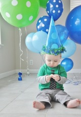 Thanks Pinterest: 1st BD Party