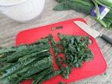 Step-By-Step: Preparing Kale